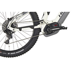 HAIBIKE XDURO AllMtn 3.0 Elcykel MTB Heldämpad grå/vit